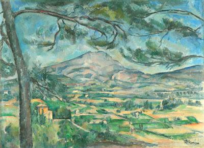 Paul Cézanne -- La Montagne Sainte-Victoire 1887