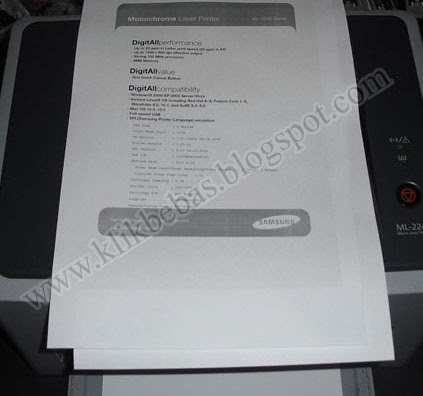 Cara Mereset Printer Samsung ML 2240