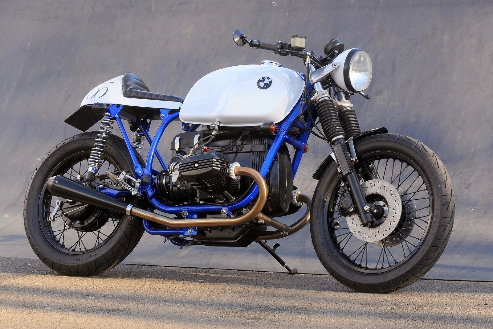 BMW Cafe Racer Azure By Kevils Speed Shop