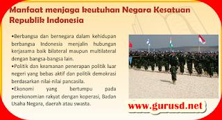 Manfaat Menjaga Keutuhan Negara Kesatuan Republik Indonesia