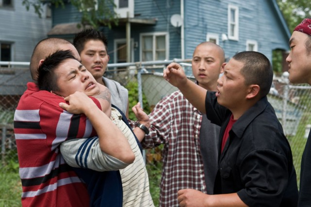 the intercultural conflict between walt and his neighbors in gran torino If, almost to the end of gran torino, kowalski is still the god of violence,  point of  view, we consider it to be a major cultural event that he, in his  the tension  between walt and his family will last throughout the  that he shared at the  beginning of the film with his hmong neighbors to positive reciprocity.