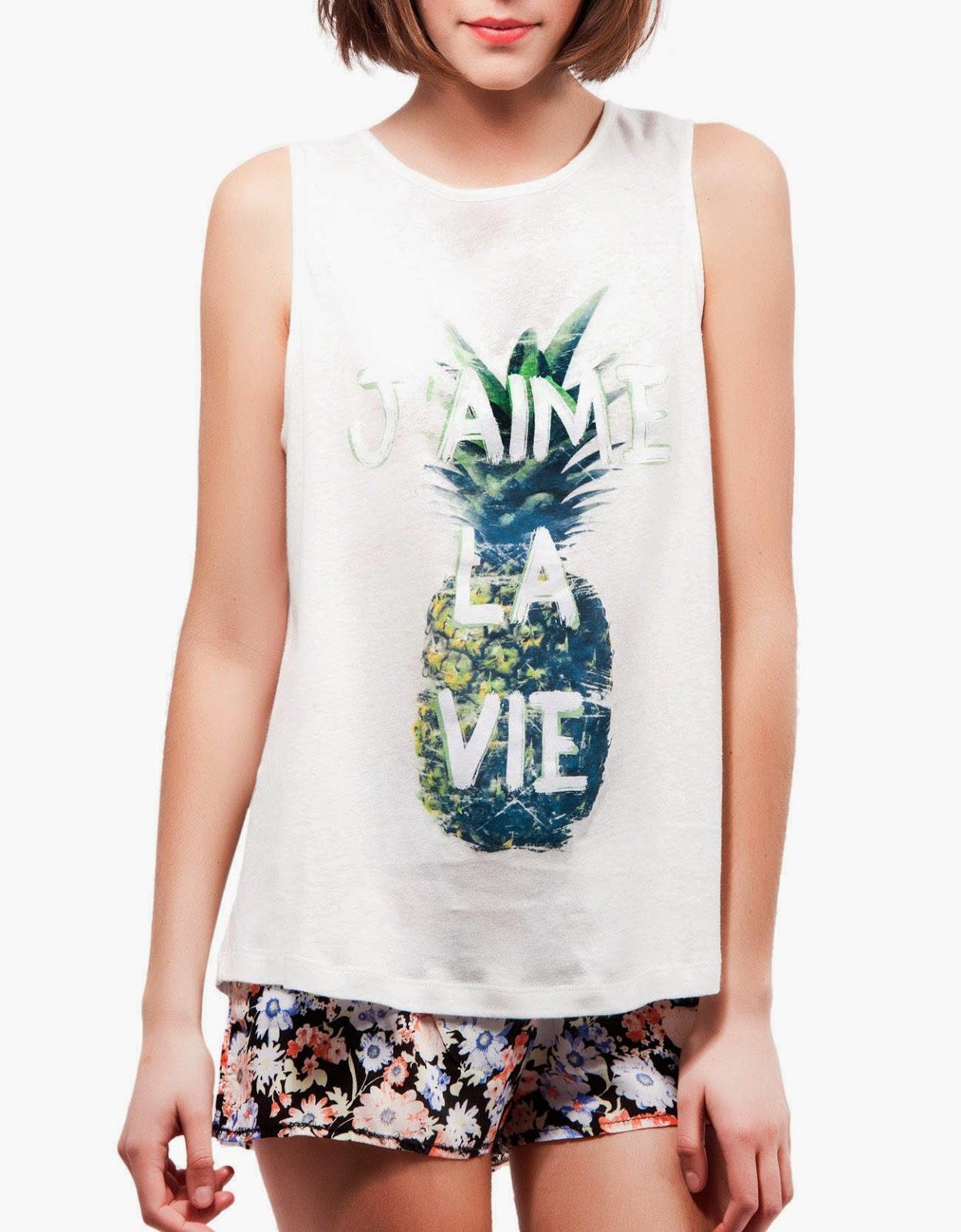 Camiseta Shana piña