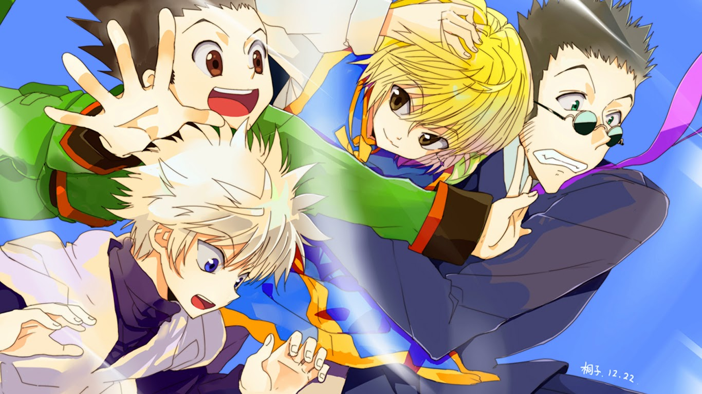 Kurapika Gon Killua Leorio Hunter X Hunter 2011 Anime HD Wallpaper n00    Kurapika Wallpaper Backgrounds