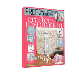 Chuffed to bits to be featured in the Summer 2016 Crafter's Inspiration Magazine