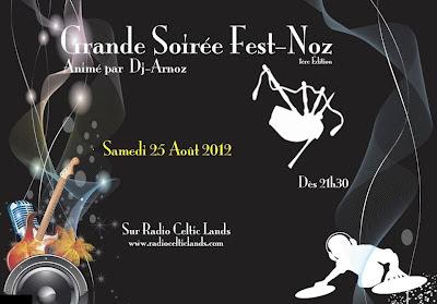 Soirée Fest-noz - Radio Celtic Lands