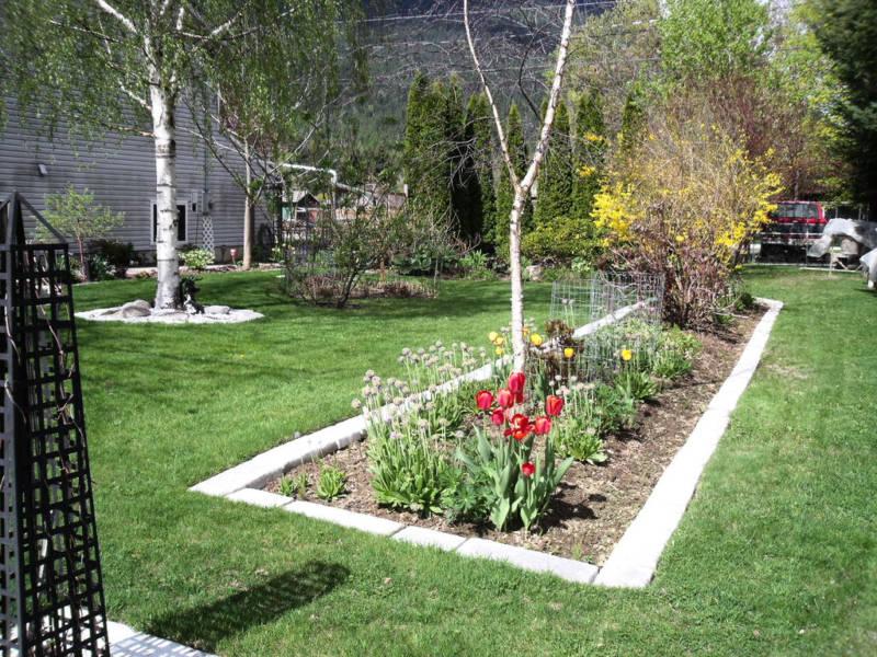 Garden edging tips garden edging ideas for Landscape edging