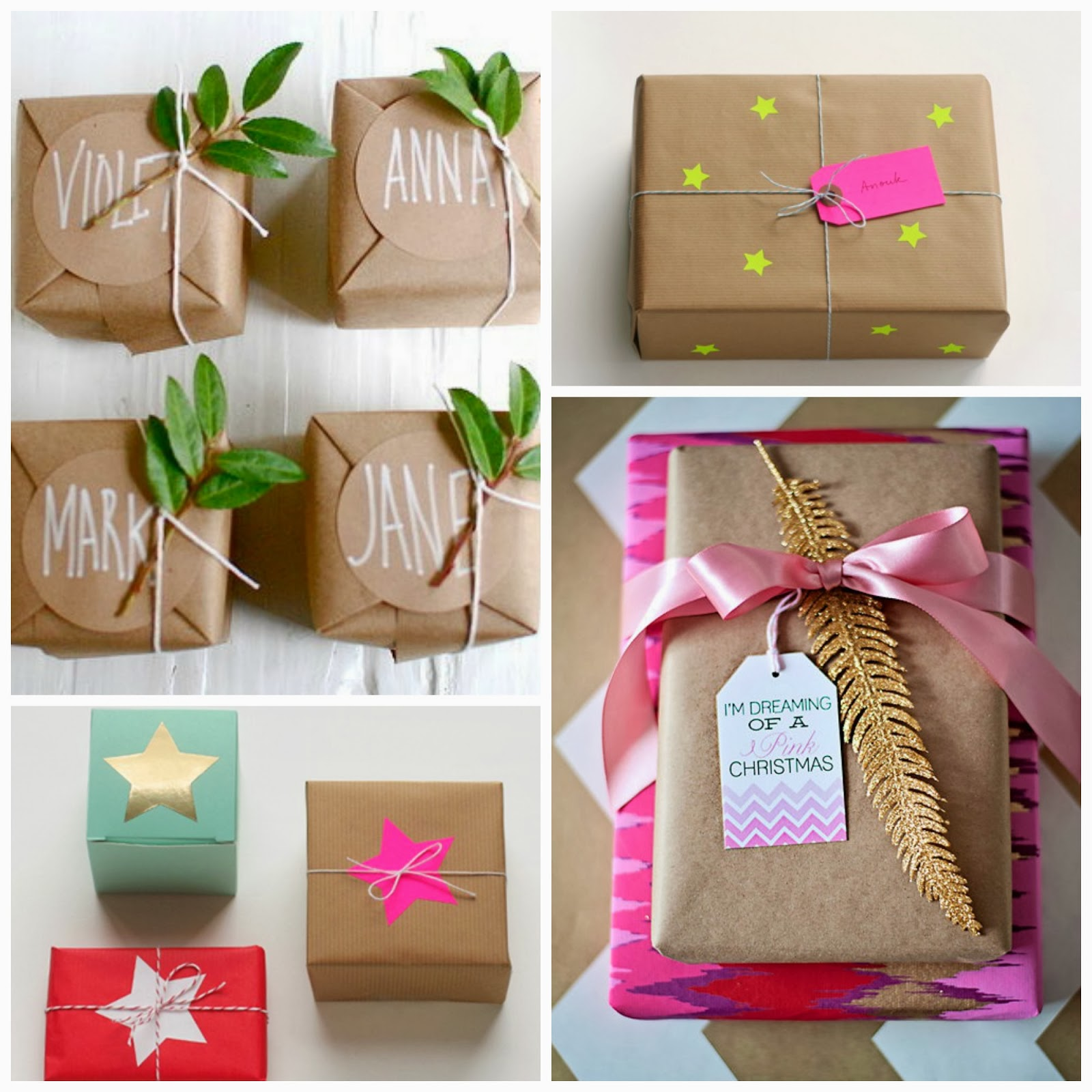 Honey And Fizz Christmas Gift Wrapping Ideas
