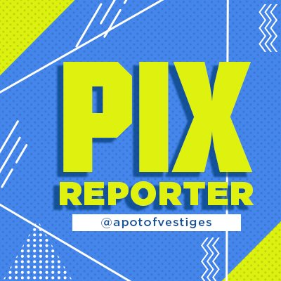 Our Sony PIX Reporter Badge