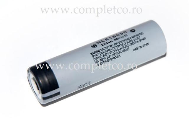 Panasonic 18650 3 7v Acumulator Litiu Ion 2900mah