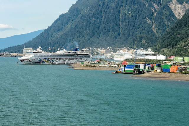 Cruise Ships Docked in Juneau, Alaska