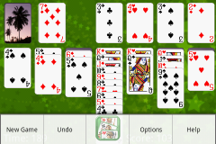 Klondike solitaire