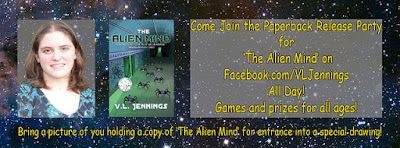 Paperback Release Party for The Alien Mind (With Giveaways - Including a Copy of How to Be Twittertastic!)