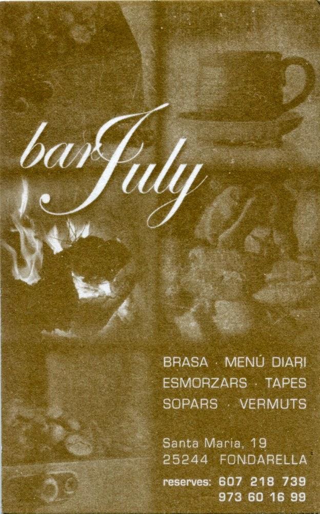 Bar July