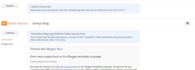 cara membuat blog langkah kedua
