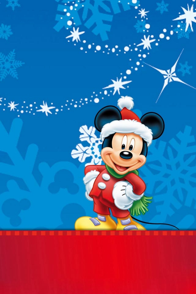 mickey mouse christmas wallpaper for iphone iphone wallpapers
