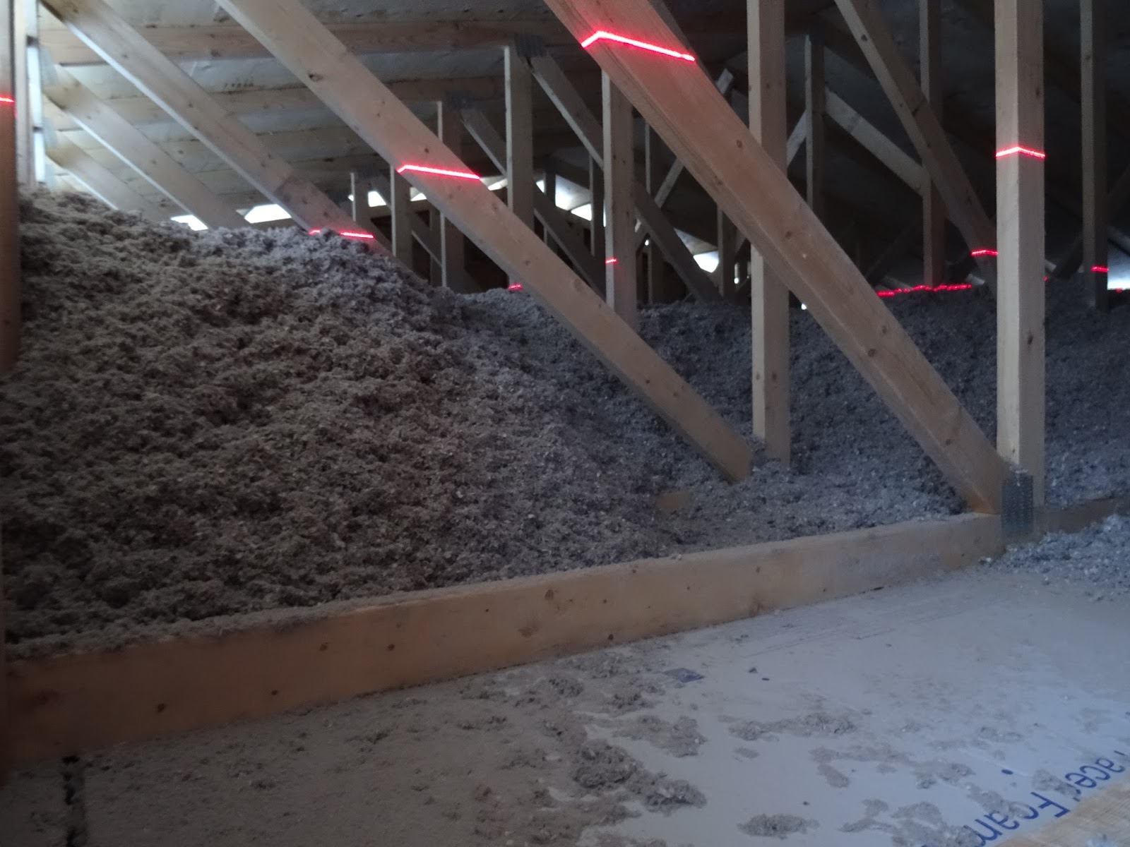 Ohm free the house that ras mimi built insulation for Blown mineral wool cavity insulation