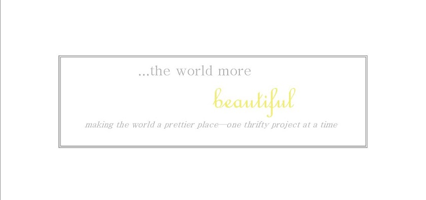 The World More Beautiful
