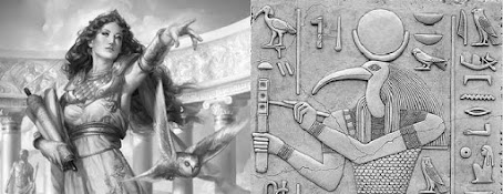 Athena & Thoth