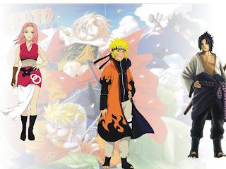 Gambar Naruto Team 7