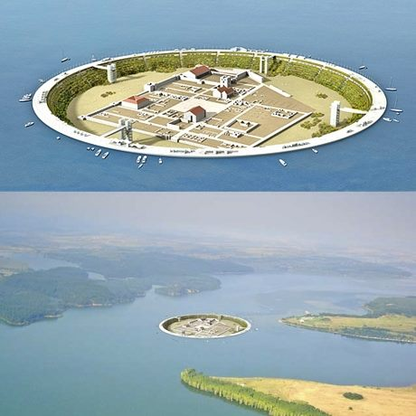 1 مدينة كاملة وسط الماء   تحفة معمارية أثرية تم اكتشفها حديثاً