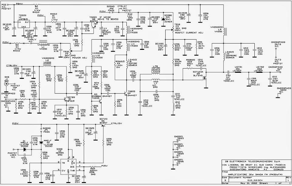 fm transmitters  db elettronica 30watt amp