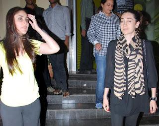 Kareena Kapoor and Karishma kapoor spotted both together