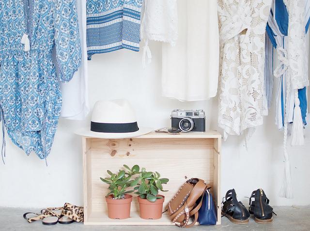 DIY vestidor a la vista