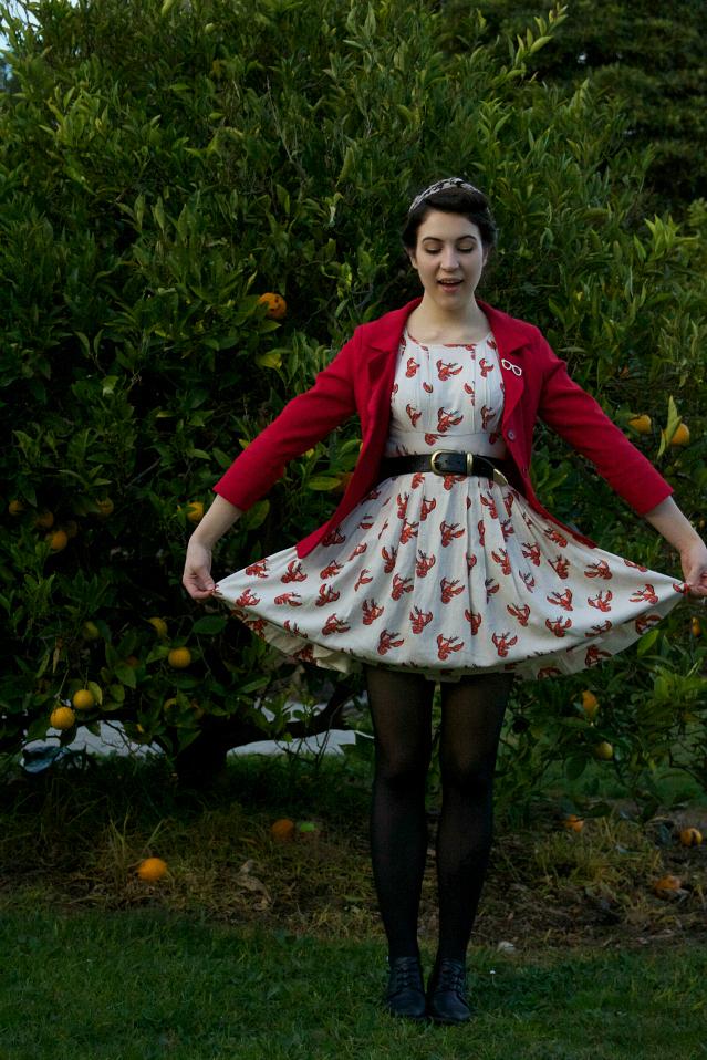 dear mr rabbit outfit rock lobster dress