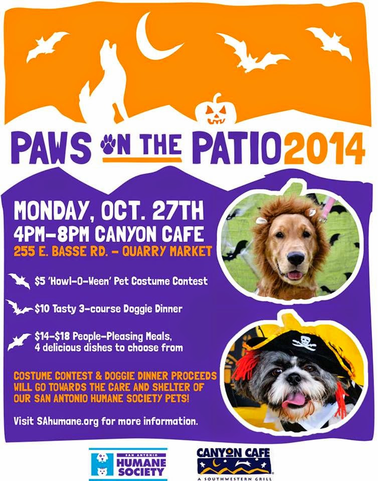 Paws on The Patio 2014