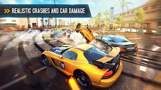 Asphalt 8: Airborne - Realistic Crashes Car Damage