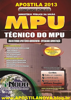 Apostila Para o Concurso MPU &#8211; Tcnico Administrativo (Ministrio Pblico da Unio)