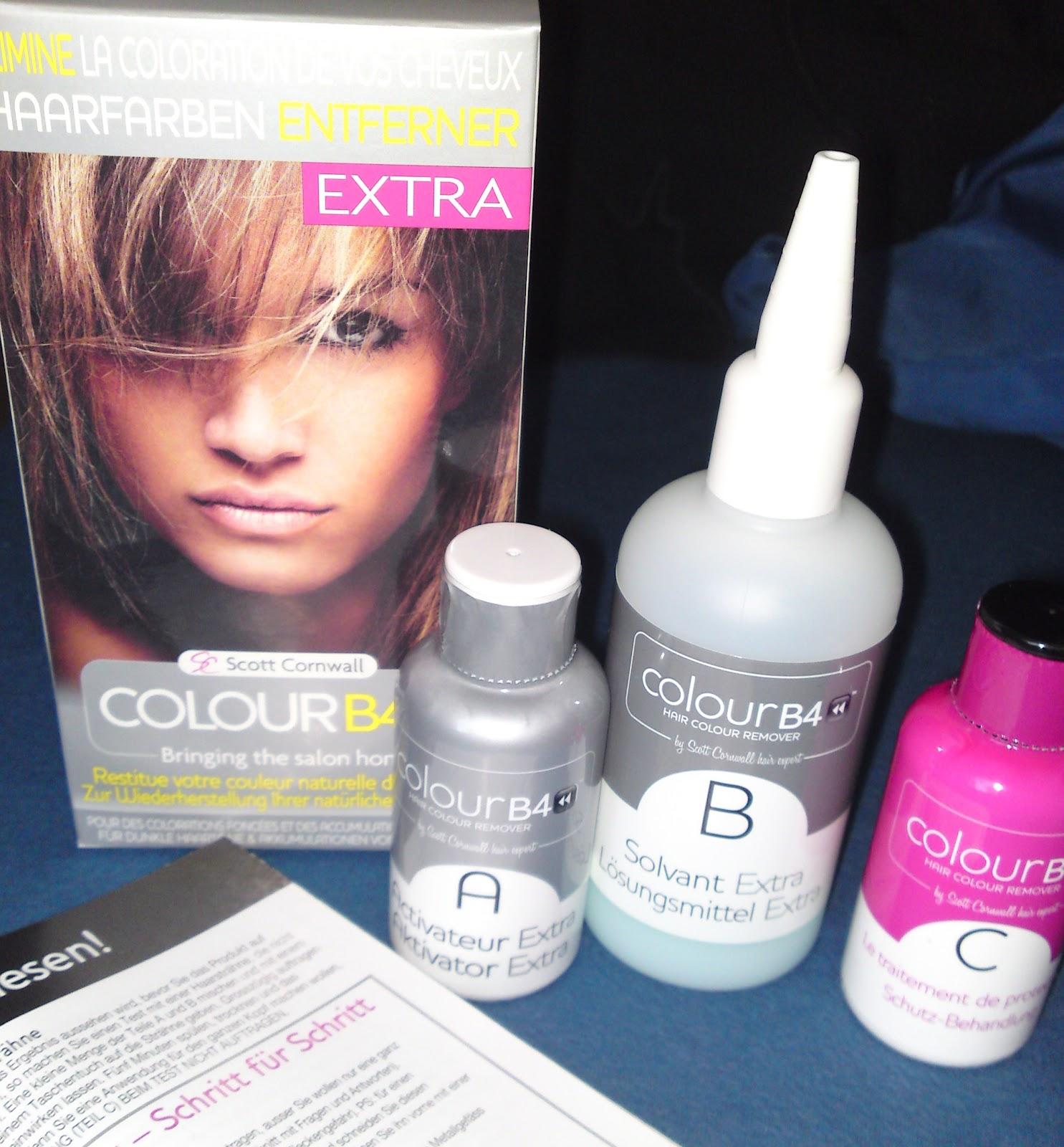 Haare komplett entfarben