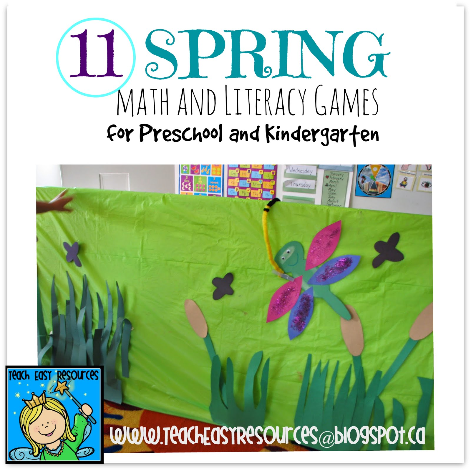 Teach Easy Resources: Spring Songs and Activity Ideas for Preschool ...