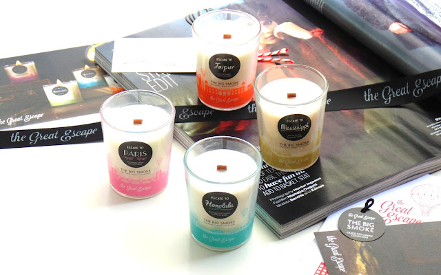 The Great Escape Crackling Candle Collection