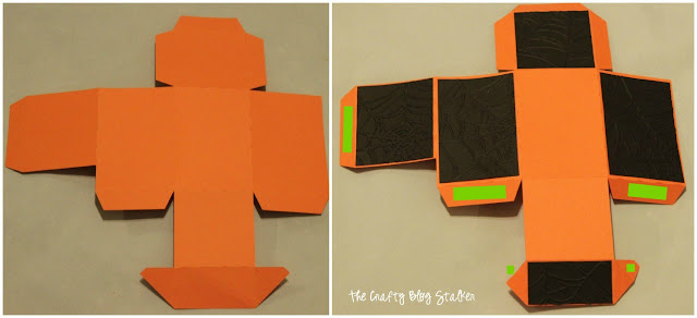 DIY Halloween Treat Boxes
