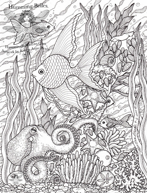 ocean scenes coloring pages - photo#32