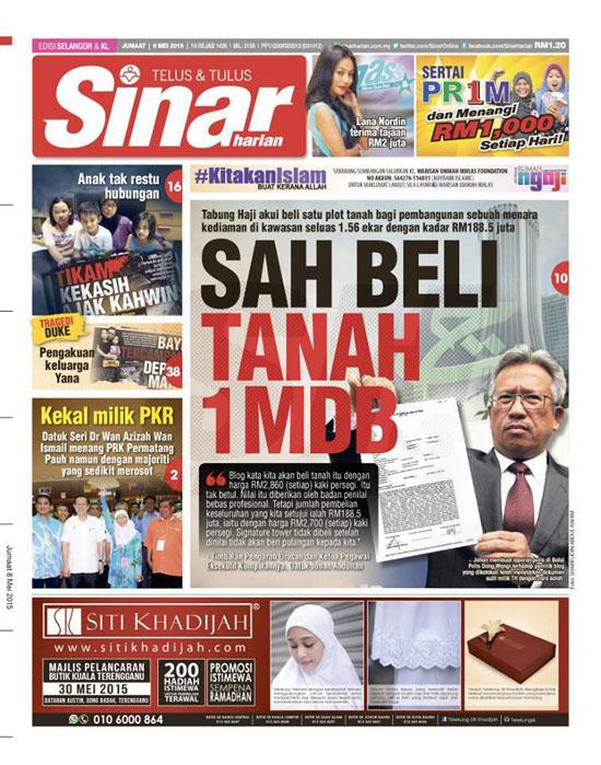 TH Sah beli tanah 1MDB