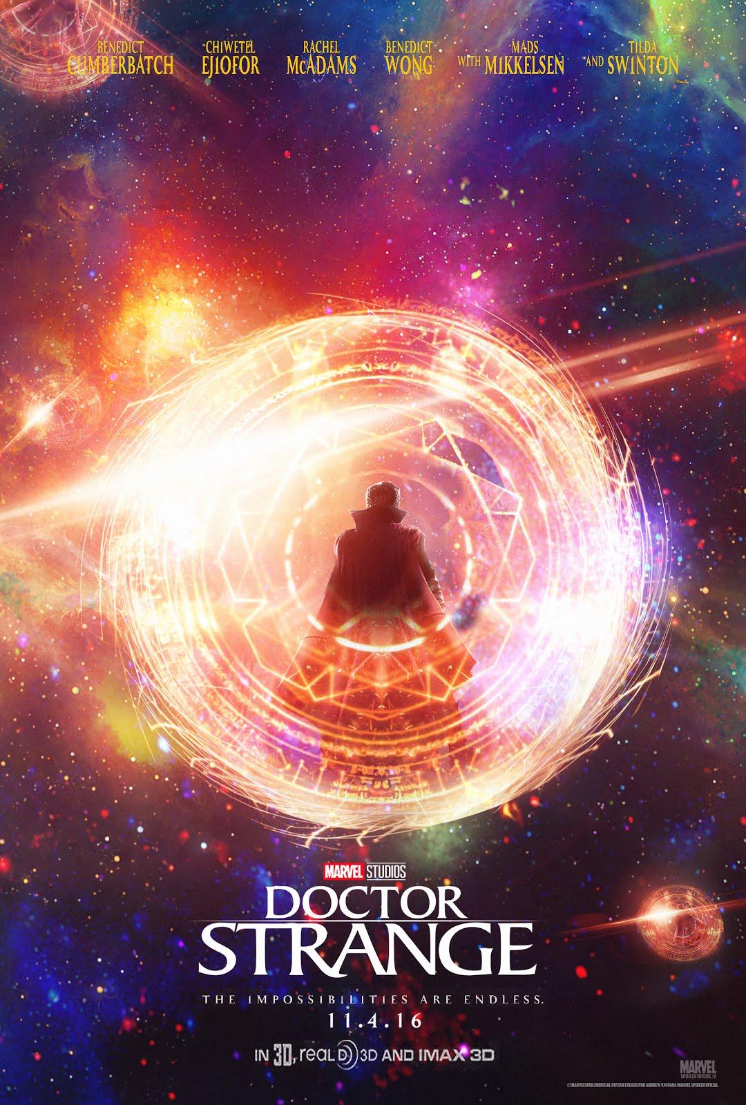 Marvel Spoiler Oficial Nuevo Poster De Doctor Strange