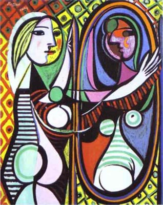 """Girl Befor A Mirror,"" Pablo Picasso (1932)"