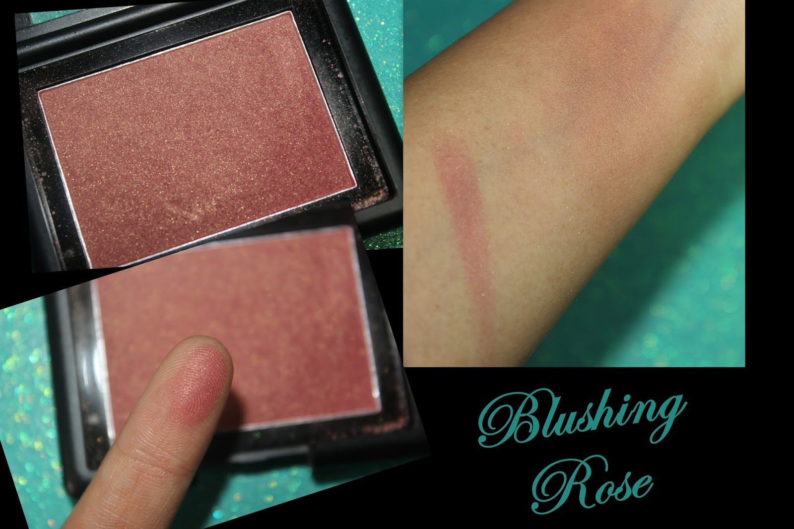 Elf blushing rose swatch