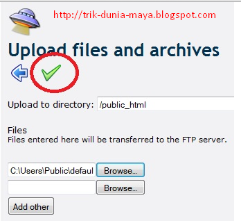 Memilih File di 000webhost.com