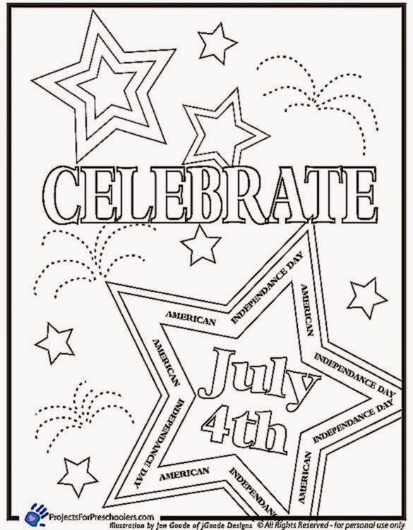 4th Of July Coloring Sheets Printable