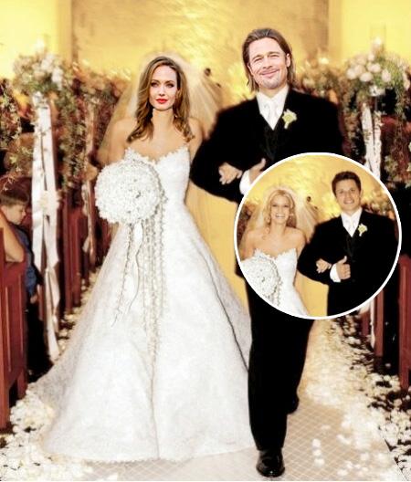 Angelina Jolie Wedding: Choose The Wedding Dress For Angelina Jolie