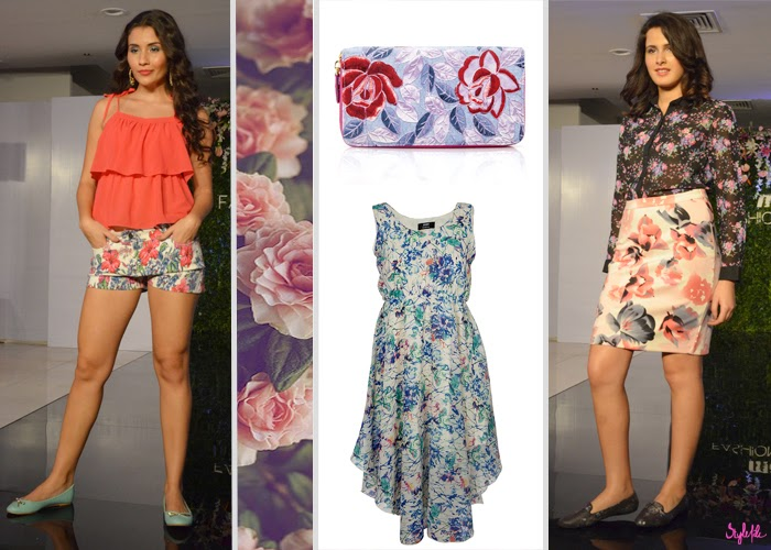 summer, spring, SS 15, collection, fashion, style, trends, trend report, trend forecast, flowers, floral, body con, skirt, shorts, dress