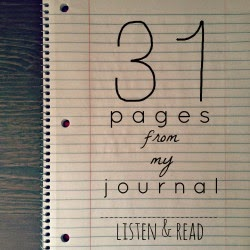 31 PAGES FROM MY JOURNAL SERIES