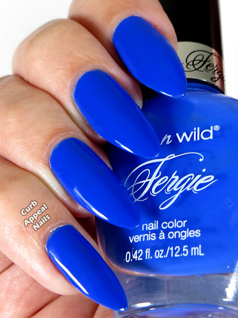 Wet n Wild Fergie Havasu Blue Swatches
