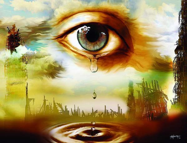 menangis menangis kerana kasih sayang dan kelembutan hati menangis