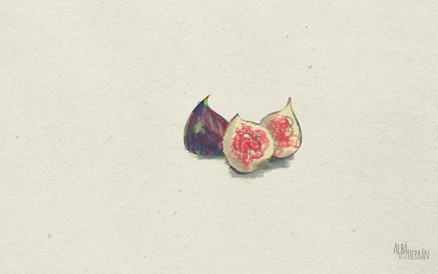 wallpaper figs illustration