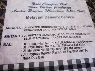 Bebek Betutu Bali di Bintaro