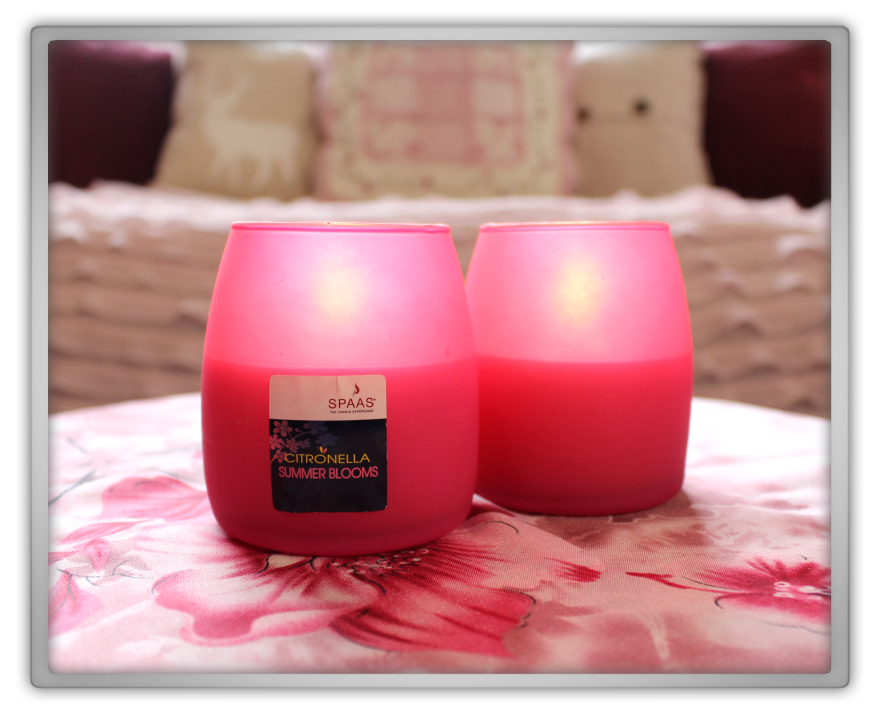 Spring Summer Candle Haul marjolein kucmer yellow pastel pink purple spaas citronella summer blooms raspberry yogurt